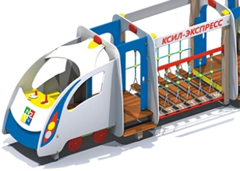 Пополнился ассортимент продукции: 4415 — паровоз «КСИЛ-экспресс»