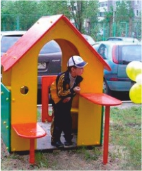 На ул. Чкалова 45 открылся детский новый городок