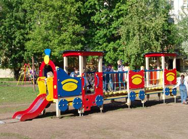 4421 - Паровозик с вагончиками