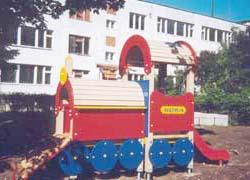 4424 - Локомотив с горкой