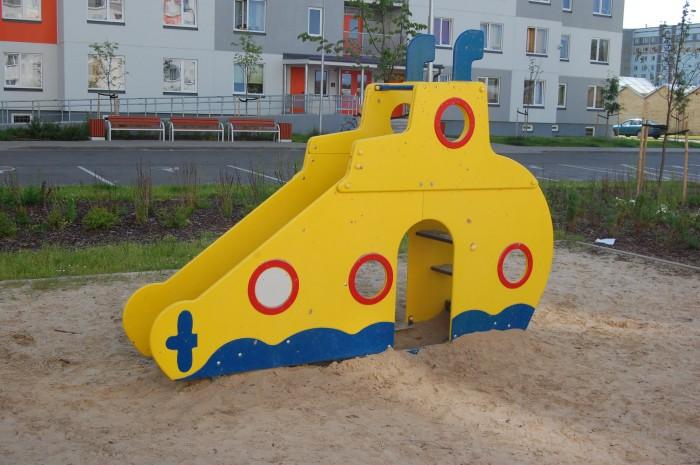 """4214 - Горка """"Подводная лодка"""""""
