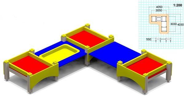 4240 - Стол-песочница